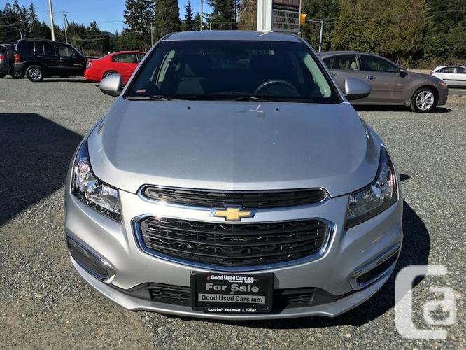 2016 Chevrolet Cruze LT - Automatic with only 69,000 KM