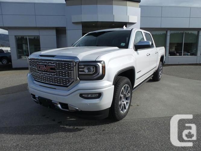 2016 gmc sierra 1500 denali 15ft for sale in kelowna british columbia classifieds. Black Bedroom Furniture Sets. Home Design Ideas