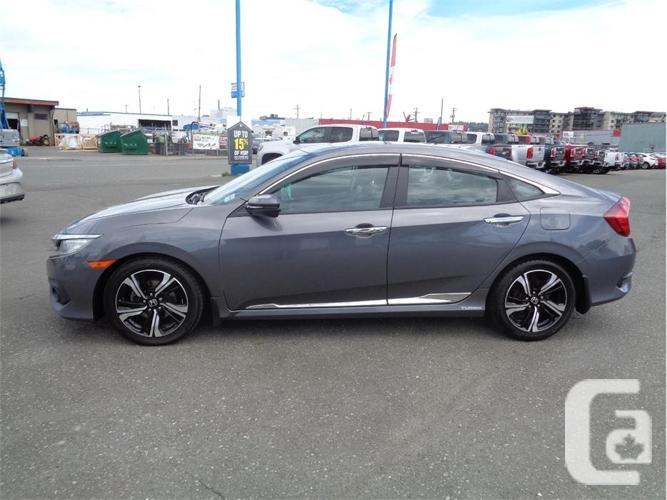 2016 Honda Civic Sedan Touring Bluetooth Navigation