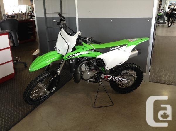 2016 kawasaki kx 85 motorcycle for sale for sale in langley british columbia classifieds. Black Bedroom Furniture Sets. Home Design Ideas