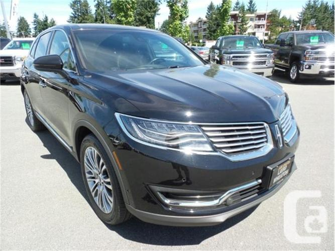 2016 lincoln mkx reserve for sale in nanaimo british columbia classifieds. Black Bedroom Furniture Sets. Home Design Ideas