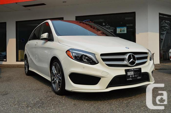 2016 mercedes benz b class b250 sports tourer 4matic for sale in surrey british columbia. Black Bedroom Furniture Sets. Home Design Ideas