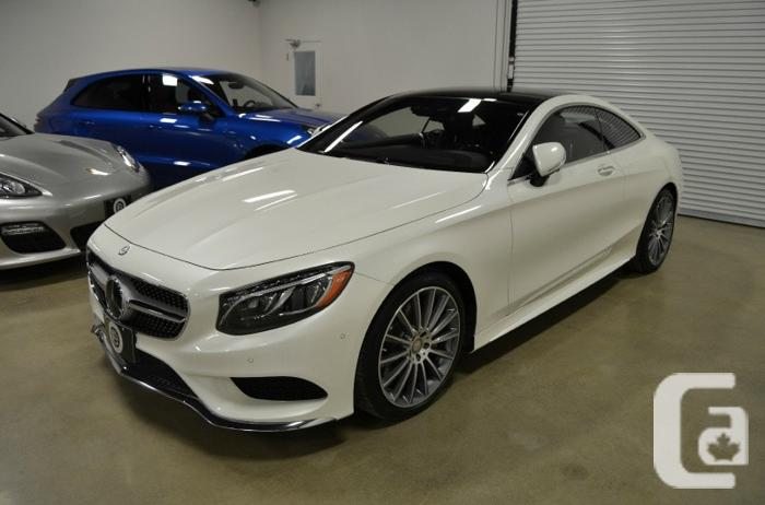 2016 mercedes benz s class 2dr cpe s550 4matic for sale in for White s550 mercedes benz for sale