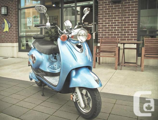2016 Motorino Xpn 60v Electric Scooter No License Required