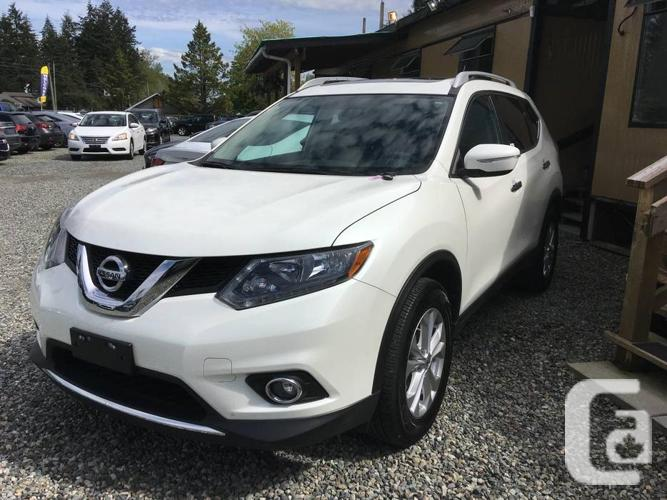 2016 nissan rogue sv awd panoramic moonroof for sale in aldergrove british columbia. Black Bedroom Furniture Sets. Home Design Ideas