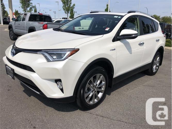 2016 Toyota RAV4 Hybrid Limited AWD No Accidents Local