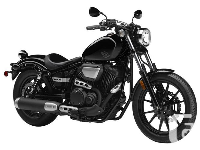 2016 Yamaha Bolt Metallic Black Motorcycle for Sale