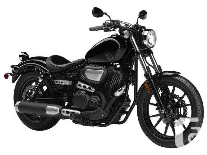 2016 Yamaha Bolt Metallic Black Motorcycle for Sale