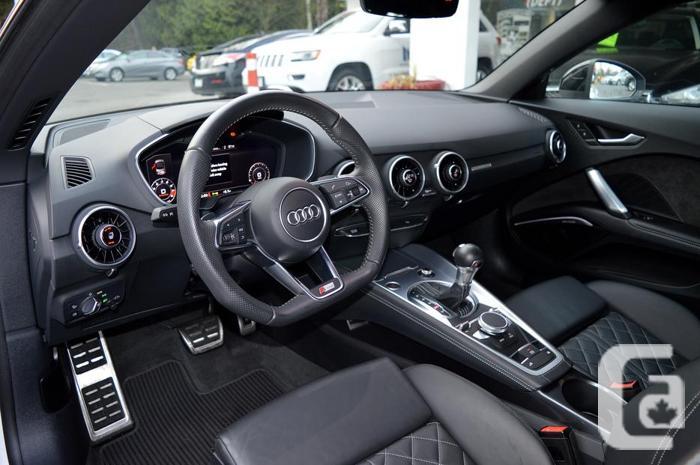 2017 Audi TT Roadster 2.0T S-LINE *COMP PKG / ONLY 10K