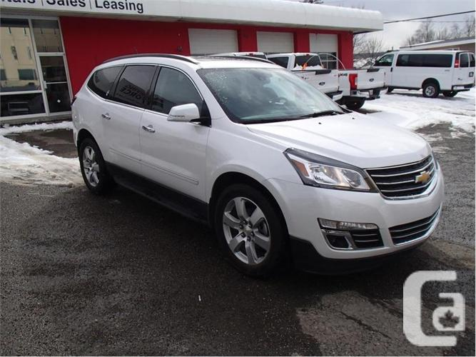 2017 Chevrolet Traverse Premier For Sale In Prince George British Columbia Classifieds