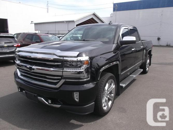 2017 chevy 1500 crew cab 4x4 high country for sale for sale in nanaimo british columbia. Black Bedroom Furniture Sets. Home Design Ideas