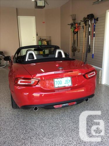 2017 FIAT   124 LUSSO SPIDER CONVERTIBLE