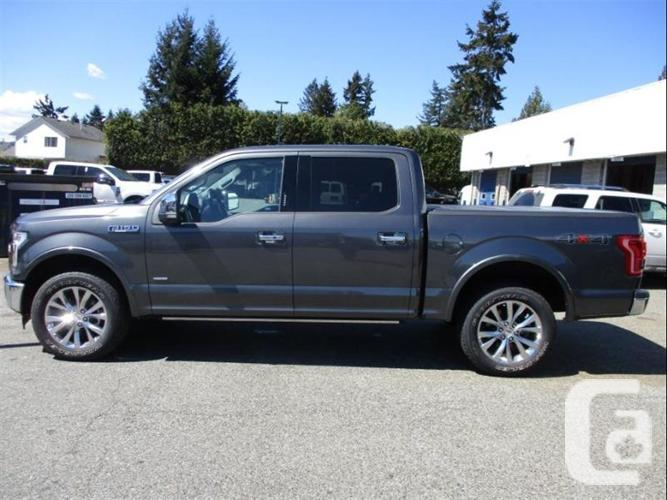 2017 Ford F-150 Lariat - Ultra Low KMs