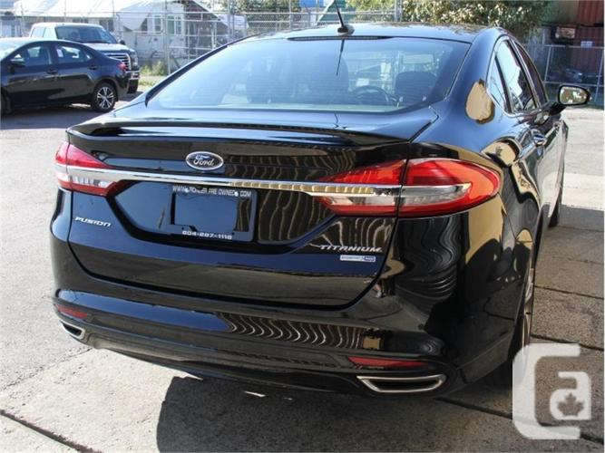 2017 Ford Fusion Titanium  - Bluetooth -  SYNC