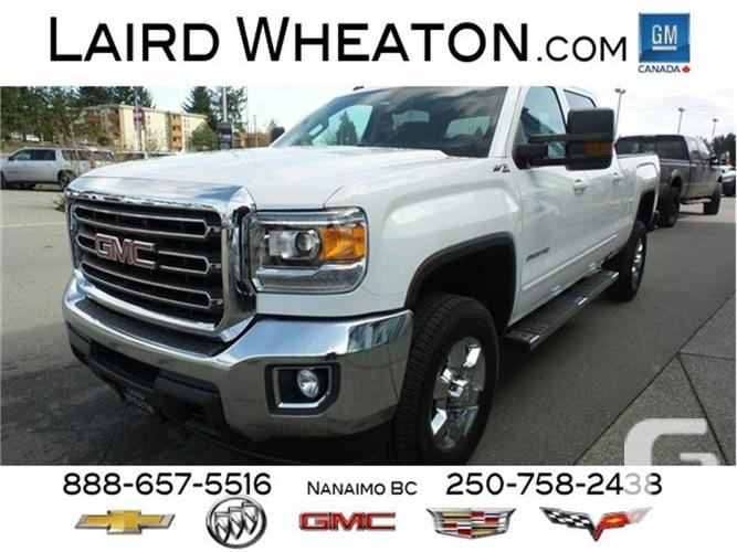 2017 gmc sierra 2500hd sle z71 4x4 trailering package for sale in nanaimo british columbia. Black Bedroom Furniture Sets. Home Design Ideas
