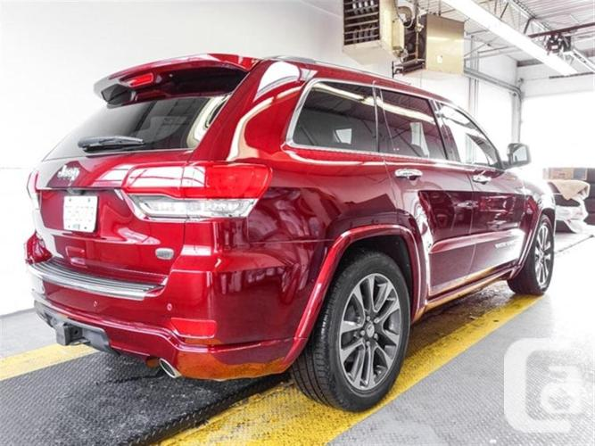 2017 jeep grand cherokee overland in burnaby british columbia for. Cars Review. Best American Auto & Cars Review