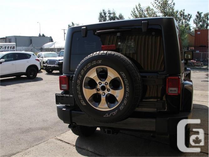 2017 Jeep Wrangler Sahara  - Bluetooth - Low Mileage