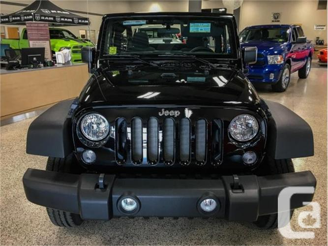 2017 Jeep Wrangler Sport New Condition For Sale In