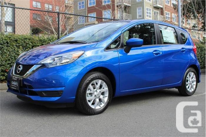 2017 nissan versa note sv for sale in victoria british columbia classifieds. Black Bedroom Furniture Sets. Home Design Ideas