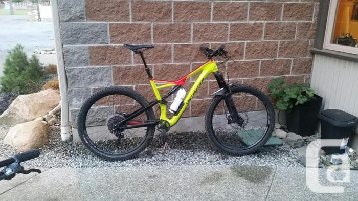 5c3ae962583 2017 Specialized Stumpjumper FSR Comp Carbon 650b for sale in ...