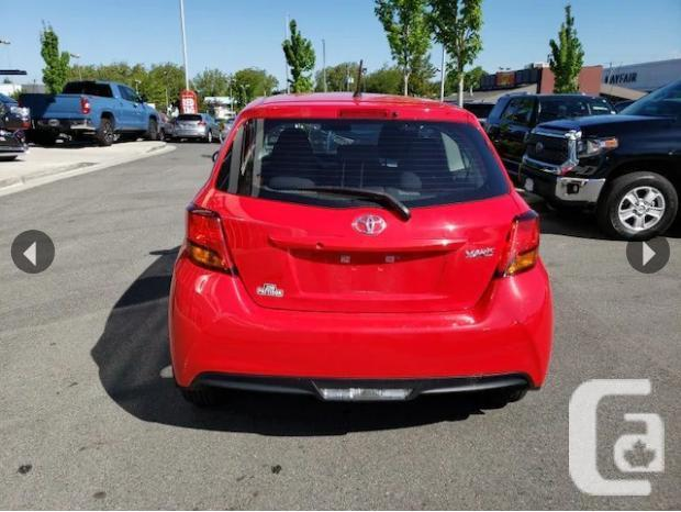 2017 Toyota Yaris CE No Accidents Local B.C.