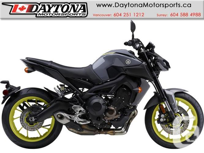 2017 Yamaha FZ-09 ABS Sport Bike  * BRAND NEW -Grey *