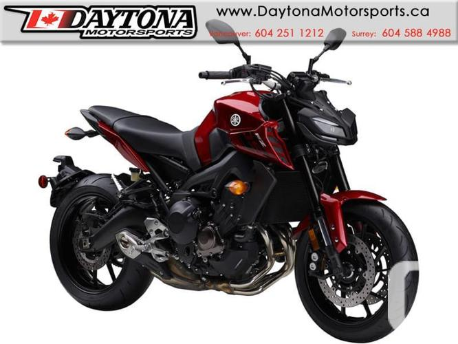 2017 Yamaha FZ-09 ABS Sport Bike  * BRAND NEW -Red *