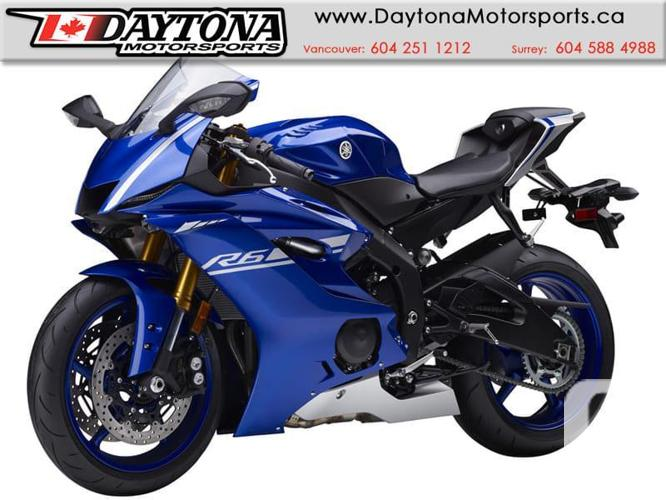 2017 Yamaha YZF-R6 ABS Sport Bike  * BRAND NEW - Blue *
