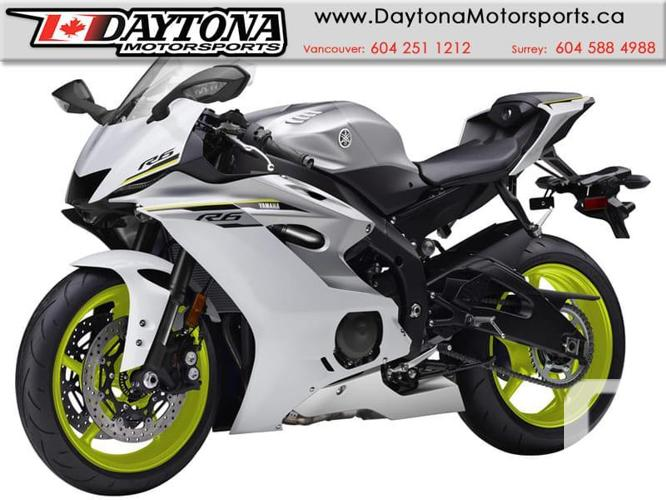 2017 Yamaha YZF-R6 ABS Sport Bike  * BRAND NEW - White