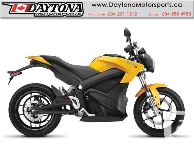 2017 Zero S ZF13.0 Street Motorcycle  * Demo Clearance!