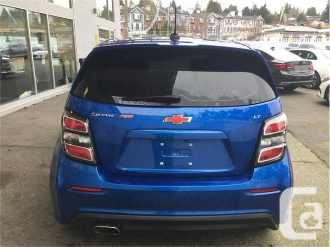 2018 Chevrolet Sonic LT  - Bluetooth - $117.27 B/W
