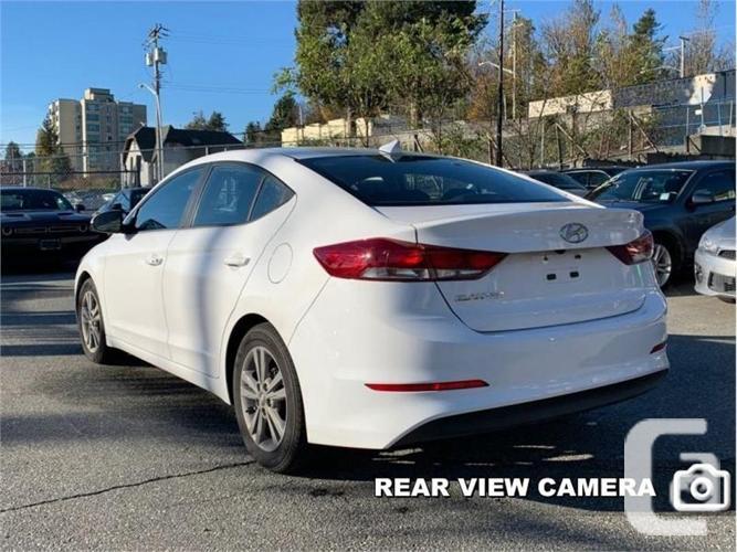 2018 Hyundai Elantra GL  -Apple Carplay -Sunroof