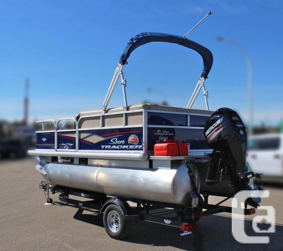 2018 SunTracker Bass Buggy 16 DLX w/Mercury 40Hp Four