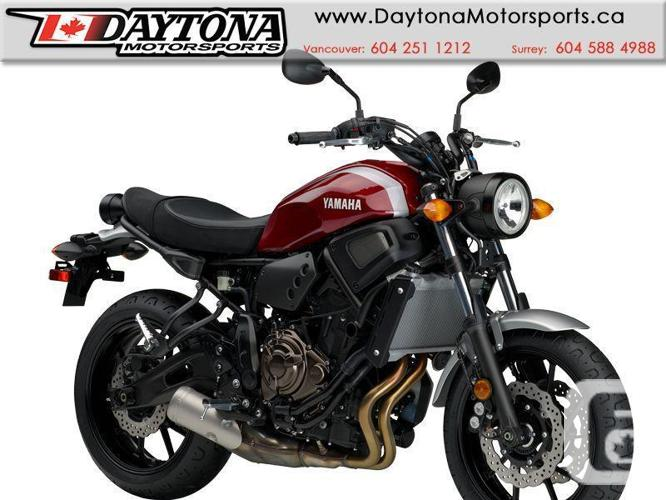 2018 Yamaha XSR700 Sport Motorcycle  * NEW RELEASE !!!