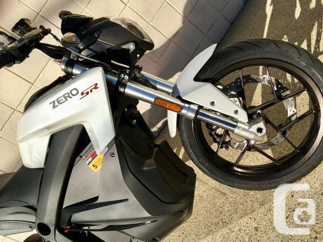 2018 Zero SR ZF14.4  Electric Sport Motorcycle