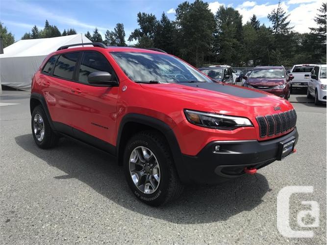 2019 Jeep Cherokee TRAILHAWK ELITE-BLUETOOTH  BACK UP
