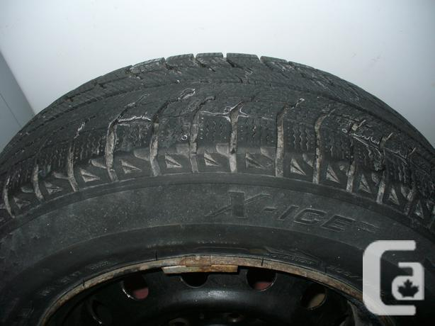 205/70/15 Michelin X-Ice2 Winter Tires, With or Without