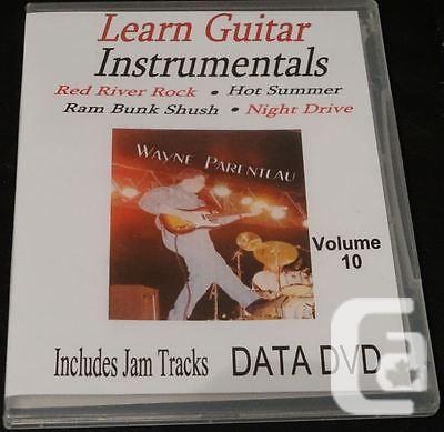 $20 VOL. 10 Guitar Instrumentals With Backing Tracks