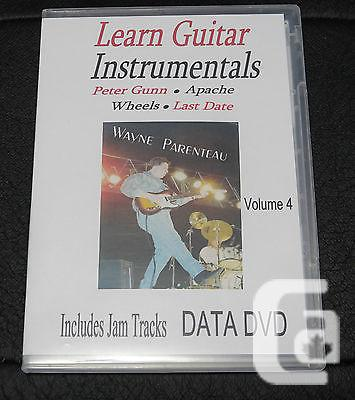 $20 VOL. 4 Guitar Instrumentals With Backing Tracks