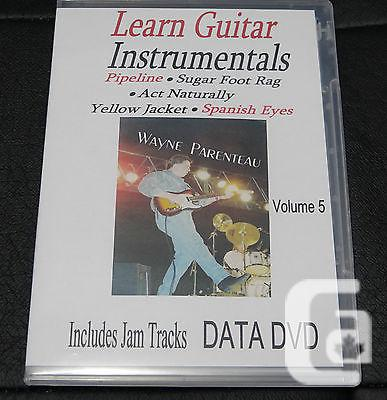 $20 VOL. 5 Guitar Instrumentals With Backing Tracks