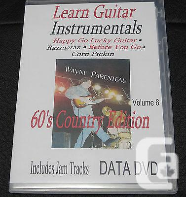 $20 VOL. 6 Guitar Instrumentals With Backing Tracks