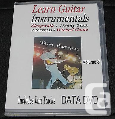 $20 VOL. 8 Guitar Instrumentals With Backing Tracks