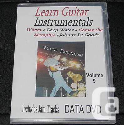$20 VOL. 9 Guitar Instrumentals With Backing Tracks