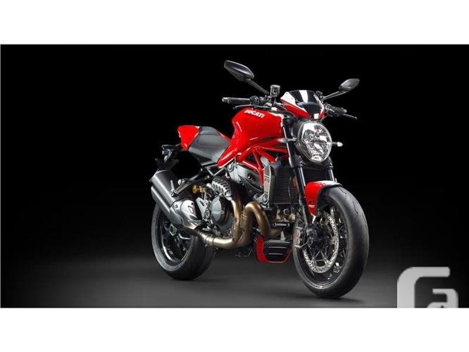 $21,195 2016 Ducati Monster 1200 R Red Motorcycle for