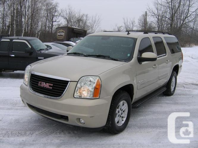 used 2007 gmc yukon xl slt 4wd for sale in smiths falls ontario classifieds. Black Bedroom Furniture Sets. Home Design Ideas