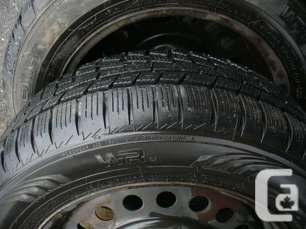 215/60/16 Nokian WRG2 Winter / Summer Tires, With or