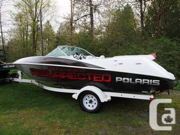 21ft Polaris Jet Boat - $21500