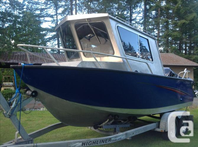 22' Welded aluminum Stormcraft fishing machine