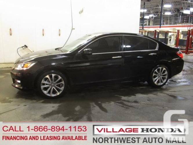 used 2013 honda accord sport for sale in calgary alberta. Black Bedroom Furniture Sets. Home Design Ideas