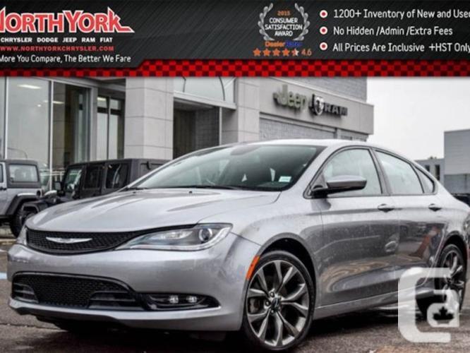$22,498 Used 2015 Chrysler 200 S AWD Navi Pano Sunroof
